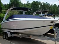 Very clean, 2003 Cobalt 262 27 foot bowrider for sale.