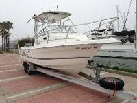 2003 Cobia 270 Walk Around, Twin Yamaha 200hp HPDI 195