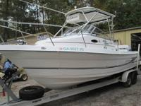 Cobia 270 Walk Around Fishing Boat  Twin Yamaha 200