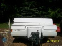 for sale nice 2003 colman popup camper has front