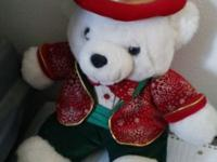 2003 Collectible Christmas bear. This is the type of