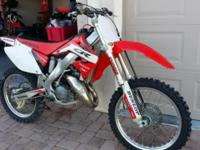 2003 Honda CR125 with title. Bike is mint, extremely