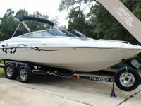 Excellent condition, one owner boat is stunning and