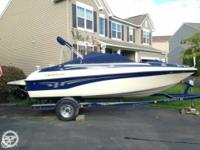 Check out this gently utilized 2003 Crownline 210 BR.