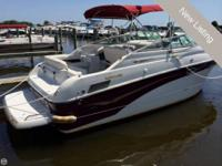 The 2003 Crownline 242 CR is a great family cruiser.