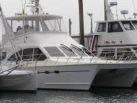 2003 Crowther Boats 591 Yacht. 50 foot long Power