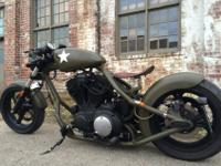 2003 Redneck Rocket Frame with a 1203 Buell engine from