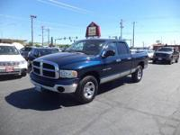 Sturdy Dodge 1500 Quad Cab SLT 4x4! Please call  or