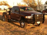 I have and 2003 Dodge 3500 4x4 6 speed manual rig