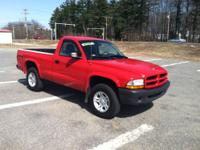 2003 Dodge Dakota 4WD 140k Miles Base Model Five-Speed