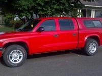 I am selling my 2003 Dodge Dakota Quad Cab. It is a V8