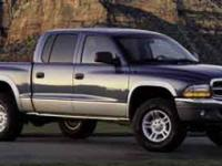 Trustworthy and worry-free, this 2003 Dodge Dakota SLT