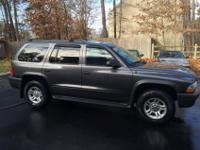 Hello there, I have up for sale a 2003 Dodge Durango. I
