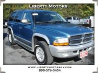Options:  2003 Dodge Durango Clean Auto Check. Ca