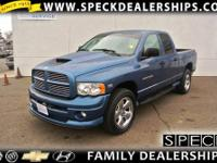 This 2003 Dodge Ram 1500 is equipped with automatic