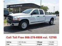 3.7L V6 Magnum. This hard-working 2003 Dodge Ram 1500