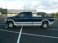 Ram 2500 quad cab long bed 4x4 NV5600 3:73 axle.