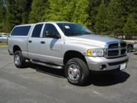 This Dodge Ram is a 3/4 ton with a clean CA history