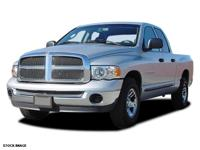 New Arrival! This 2003 Dodge Ram 1500 SLT Includes