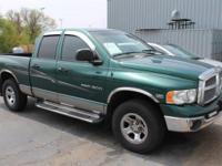 2003 DODGE RAM 1500: 5.7L V8, 4WD, QUAD CAB, BEDLINER,