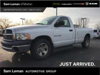 Solid work truck. This 2003 Ram 1500 ST is ready to tow