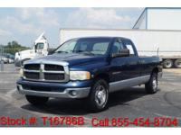 2003 Dodge Ram 2500 SLT in Patriot Blue Pearlcoat, This