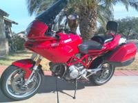 For sale is a 2003 Ducati Multistrada 1000DS, with the