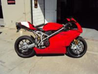 The bike was bought brand new in 2004 from Marin Ducati