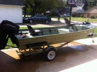 2003 Duracraft 1548 FLS ALUMINUM boat! All metal
