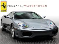Check out this gently-used 2003 Ferrari 360 we recently