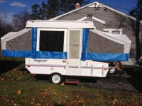 I'm selling a 2003 Flagstaff pop up camper. Sleeps 6.
