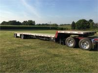 2003 Fontaine 48x102 step deck spread trailer for sale