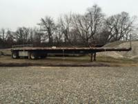 I have 2 Fontaine flatbed spread-axle trailers. They