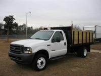 2003 Ford F-450 Dump with 7.3 Powerstroke Diesel.