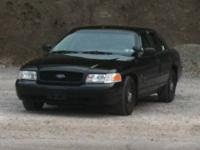 ?2003 Ford Crown Victoria (CV-P71) Police Interceptor