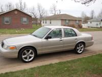 For Sale is a 2003 Ford Crown Victoria LX Sporting