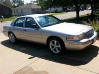 For Sale is a 2003 Ford Crown Victoria LX Sport.
