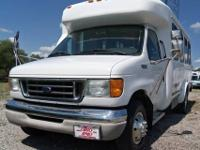 2003 FORD E350 11+2 Para-transit Buses, 7.3 Power