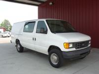 Options Included: N/A2003 E350 EXTENDED CARGO VAN, LOW