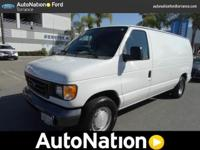 This is a well kept ONE-OWNER Econoline Cargo Van with
