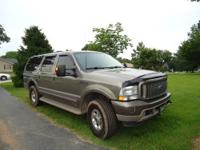 Great Vehicle! Lots of extras on this Excursion. To