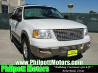 Options Included: N/A2003 Ford Expedition Eddie Bauer