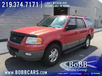 Recent Arrival! 2003 Ford Expedition XLT Laser Red