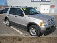Options Included: WOW! 2003 FORD EXPLORER XLT WITH ONLY