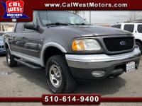 4x4. XLT Trim Package. Low Miles. California Owned!