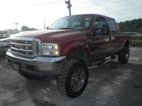 7.3L Diesel 4x4 Lariat with leather and all pwr