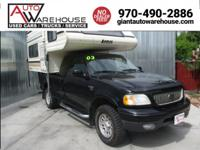 F150 TRUCK AND LANCE CAMPER SOLD SEPERATELY OR TOGETHER