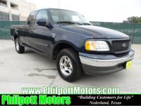 Options Included: N/A2003 Ford F150 Supercab XLT, blue
