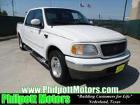 Options Included: N/A2003 Ford F150 Supercrew, white
