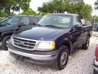 Options Included: N/A2003 ford f-150 truck, blue